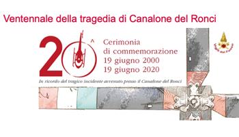 Ventennale della tragedia di Canalone del Ronci.