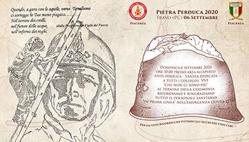 Sezione di PIACENZA – Commemorazione alla Pietra Perduca 2020