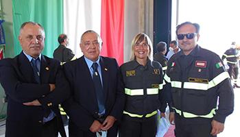 Apertura del nuovo distaccamento VVF di Agropoli (SA) – Ringraziamenti