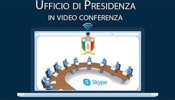 Ufficio di Presidenza – Convocazione in video conferenza del 15-07-2020