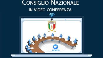 Consiglio Nazionale – Riunione in VDC del 23/09/2020