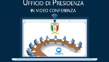 Ufficio di Presidenza – Convocazione dell'UdP in videoconferenza il 20-04-2021