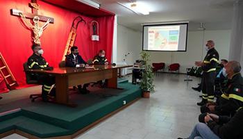 Coord. Abruzzo – Visita istituzionale al Comando Prov.le VV.F. Chieti