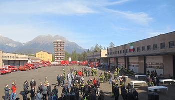 Sezione di BELLUNO – Inaugurazione nuova caserma del Comando Prov. di Belluno