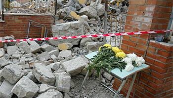 Sezione di CAMPOBASSO – 18° anniversario del Terremoto del Molise dell'anno 2002