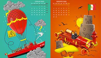 UdP – Calendario istituzionale CNVVF / ANVVF 2021.