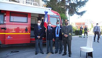Sezione di CAMPOBASSO – Conferimento della Medaglia di Bronzo al Comando Provinciale dei VVF di Campobasso