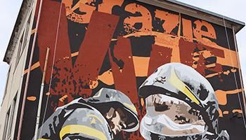 Sezione di GENOVA – Murales in ricordo del disastro del Ponte Morandi