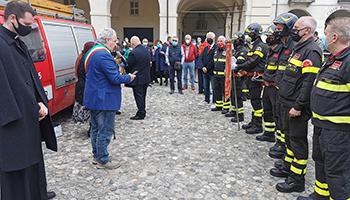Sezione di TORINO – Commemorazione Vigili del Fuoco Volontario Paolo Sette
