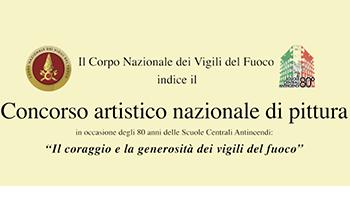 """Esito del Concorso Artistico nazionale di pittura – """"Il coraggio e la generosità dei Vigili del fuoco"""""""