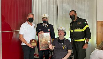 Sezione di BELLUNO – Premiazione – Comandante onorario del F.R.D.P