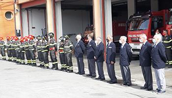 Sezione di SALERNO – Il nuovo Direttore Regionale VVF della Campania in visita al Comando di Salerno